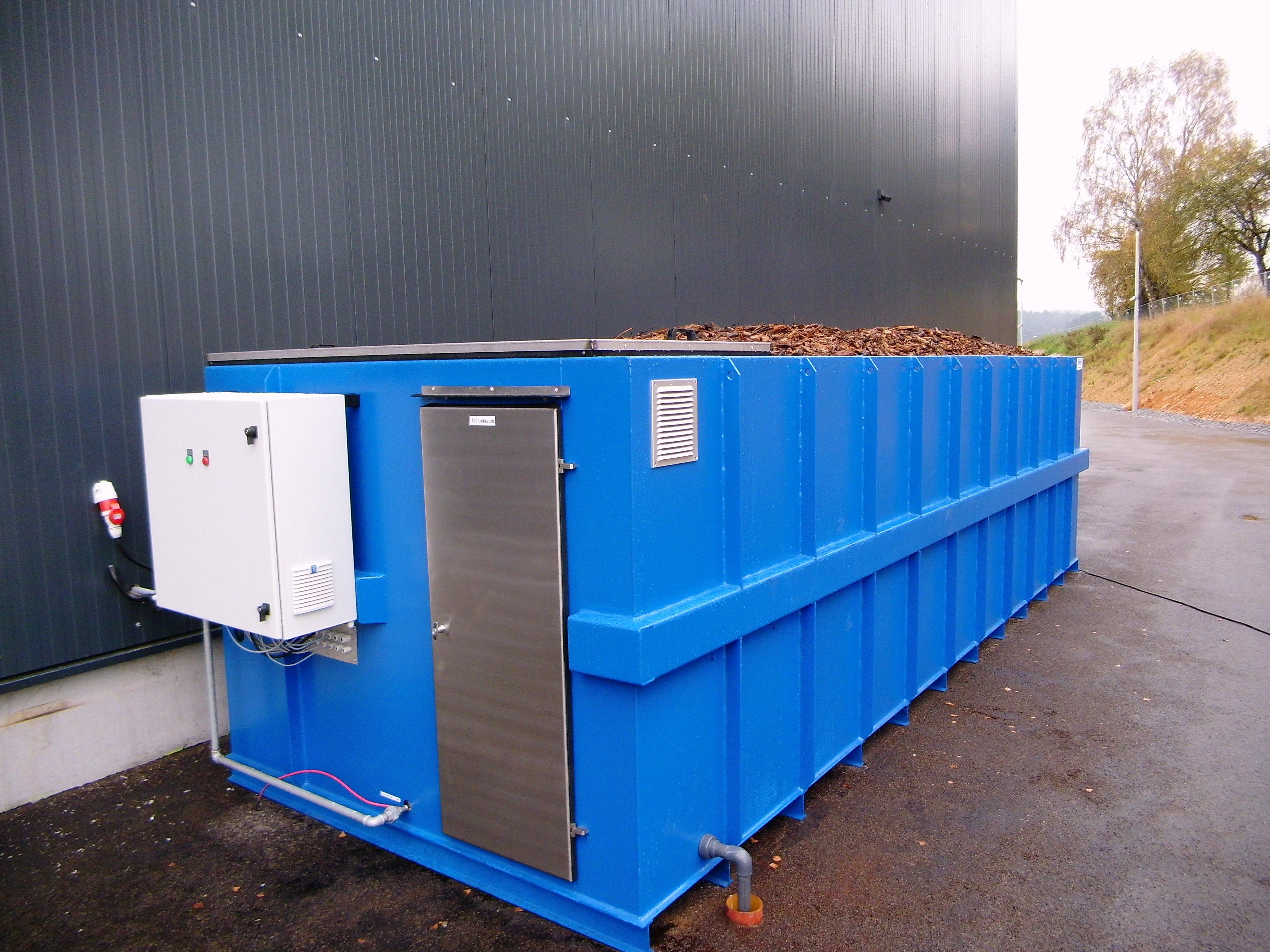 Biofiltro Modulare su Container - Biowood