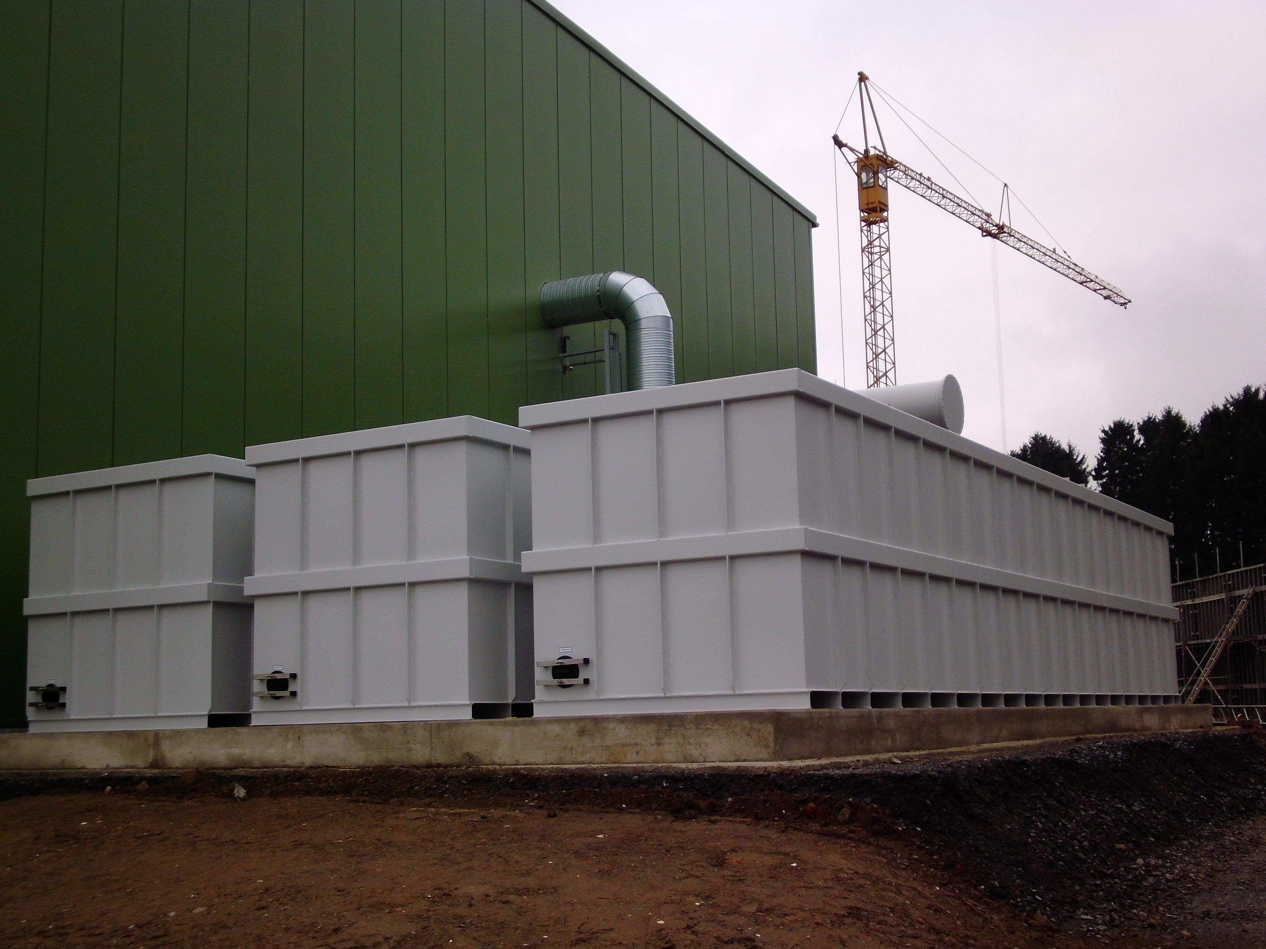 Biofiltri Modulari su Container - Biowood