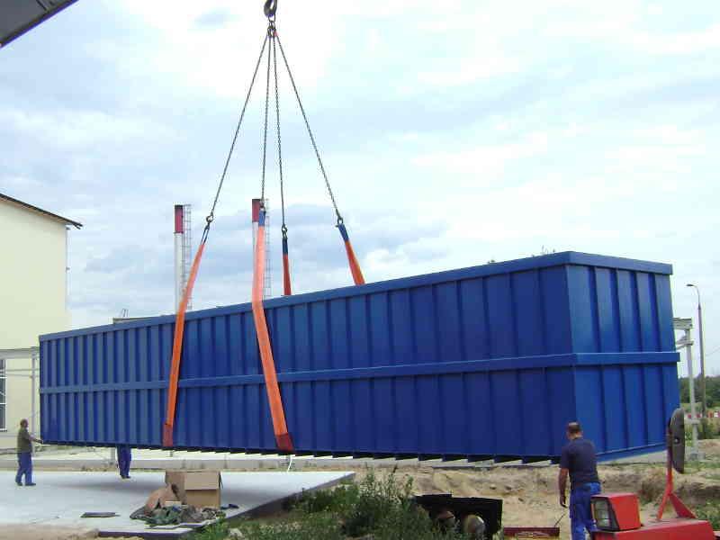 Biowood - Impianti biofiltranti in container